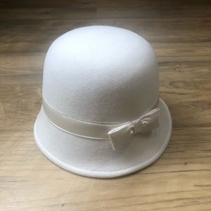 Gymboree White Felt Hat